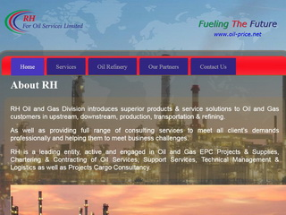 RH For Oil Services Limited.